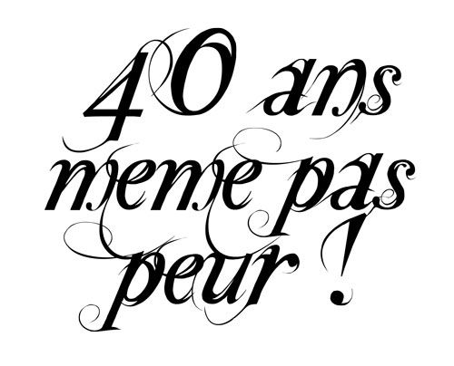 Anniversaire 40 Ans Clipart Clipground