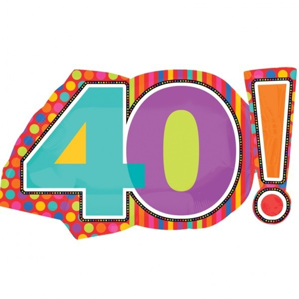 40th Birthday For Facebook Clipart#2204031.