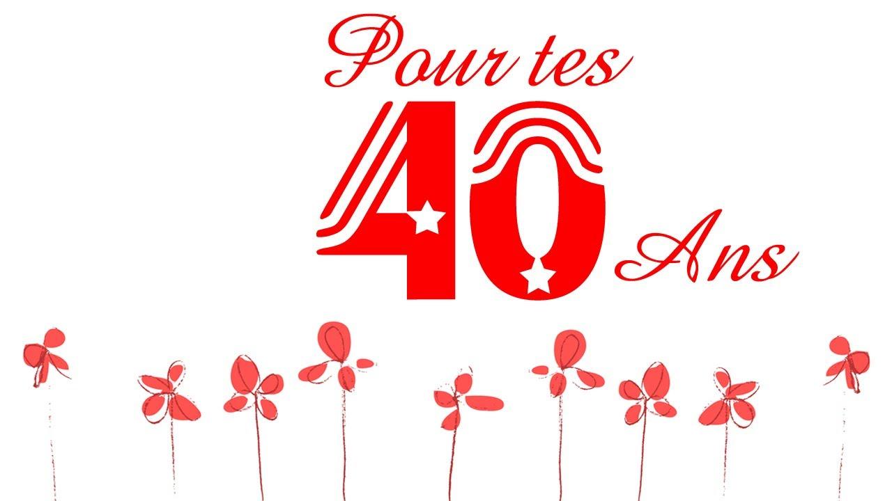 Fêter un anniversaire pour les 40 ans.