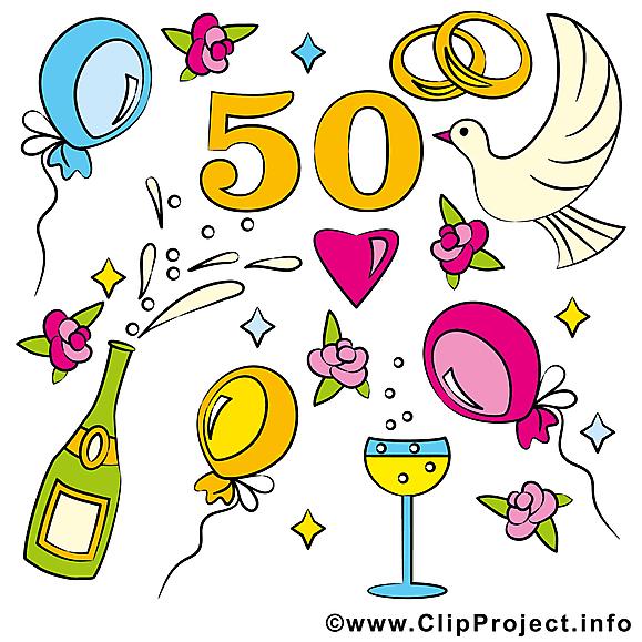 50 ans ballons anniversaire mariage images.
