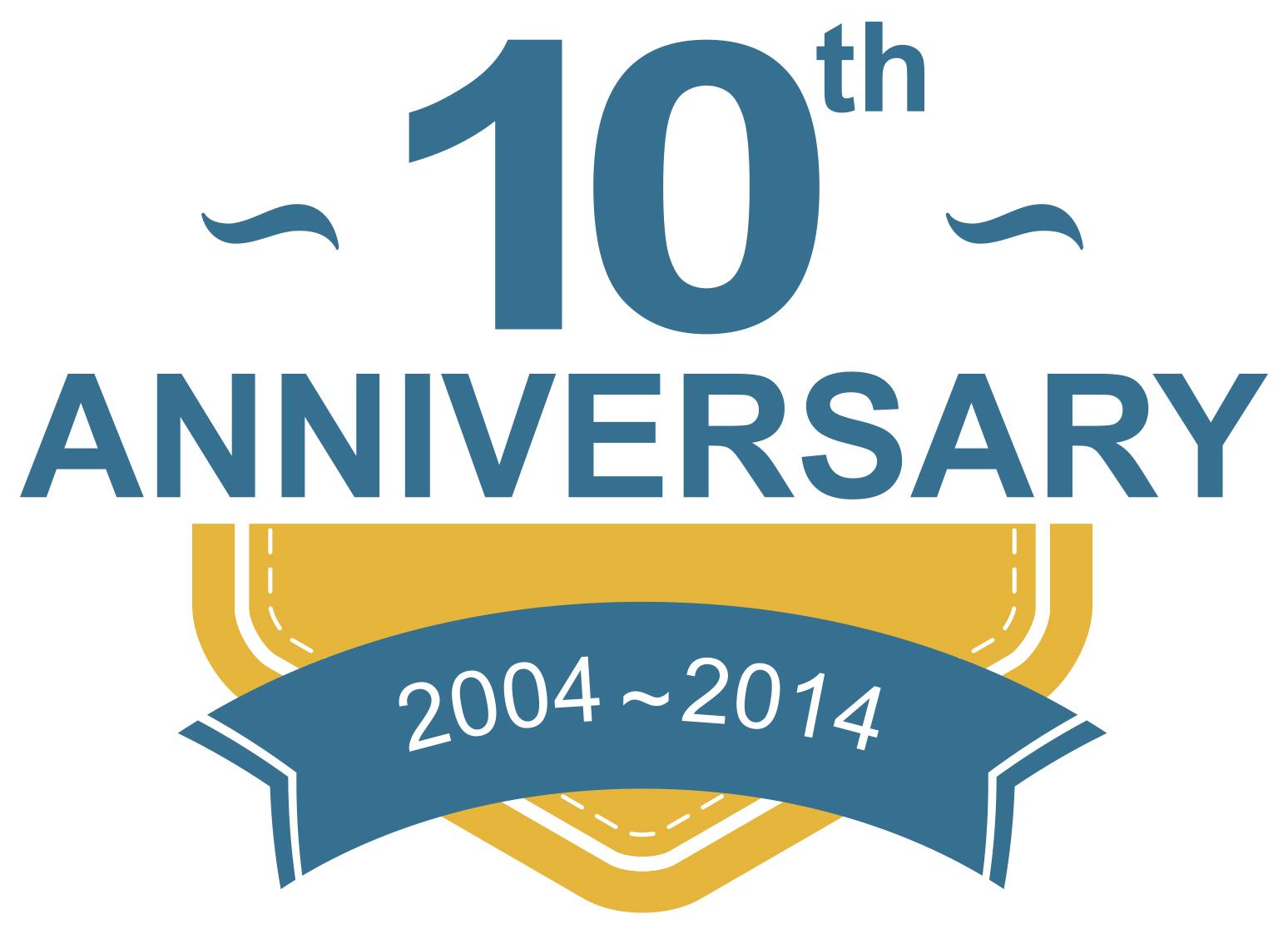 10 Anniversary.