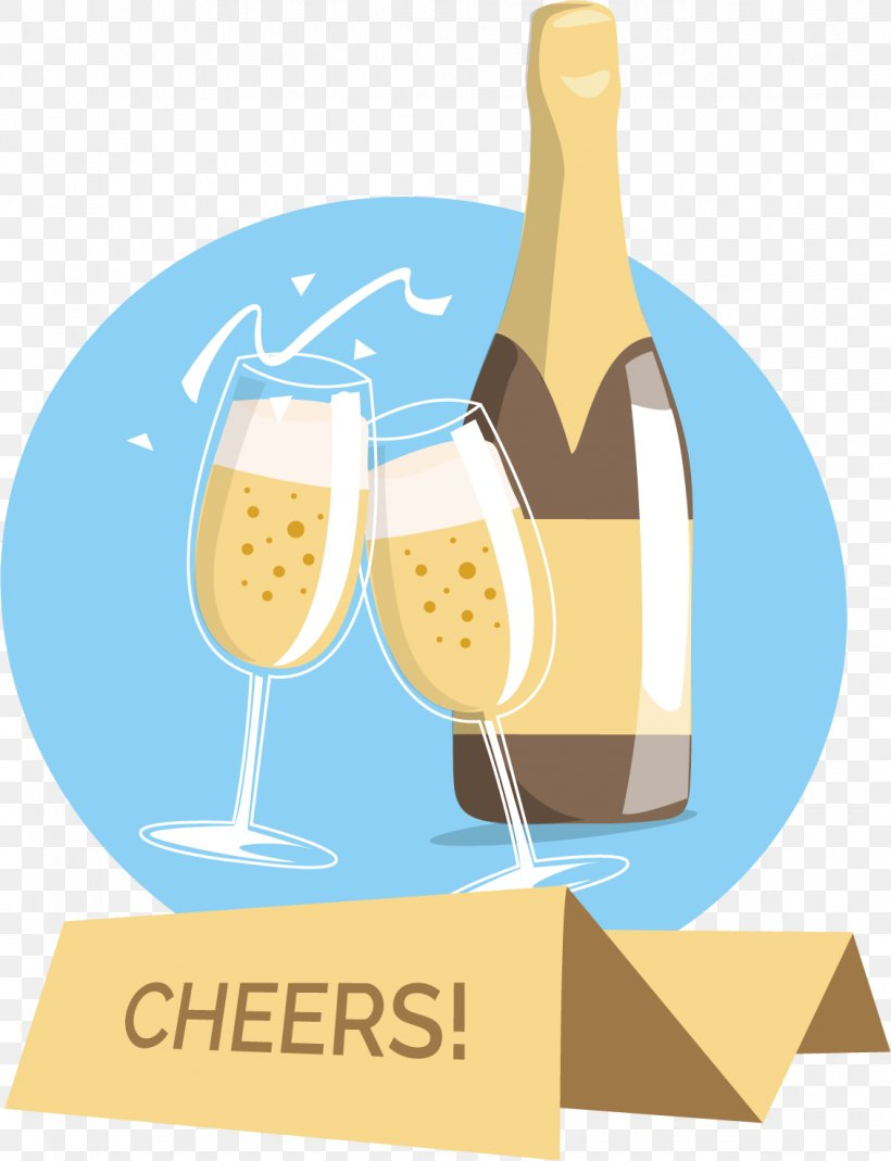 Champagne Euclidean Vector Party Toast, PNG, 1132x1476px.