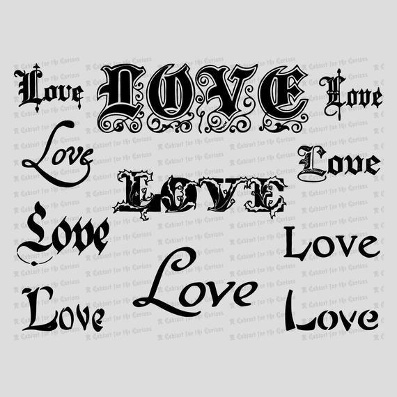 Vintage Word \