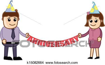 Anniversary Celebration Clipart.