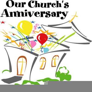 Happy Church Anniversary Clipart.
