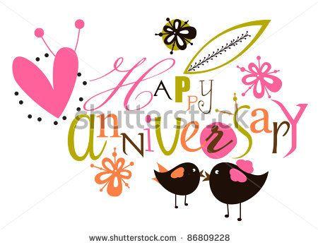 Happy Work Anniversary Clipart.