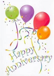 Happy Anniversary Balloons.