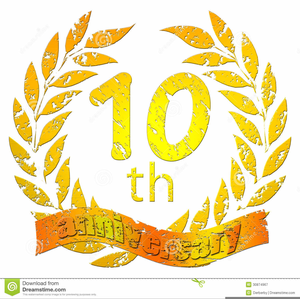 Th Anniversary Clipart Free.
