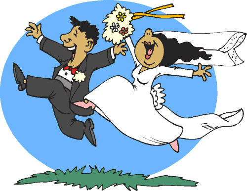 Funny Wedding Anniversary Clipart.