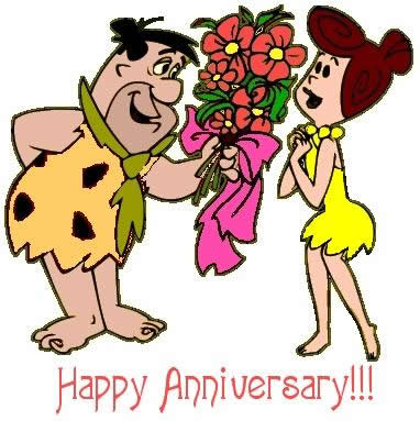 Wedding anniversary on happy anniversary tatty teddy clipart.