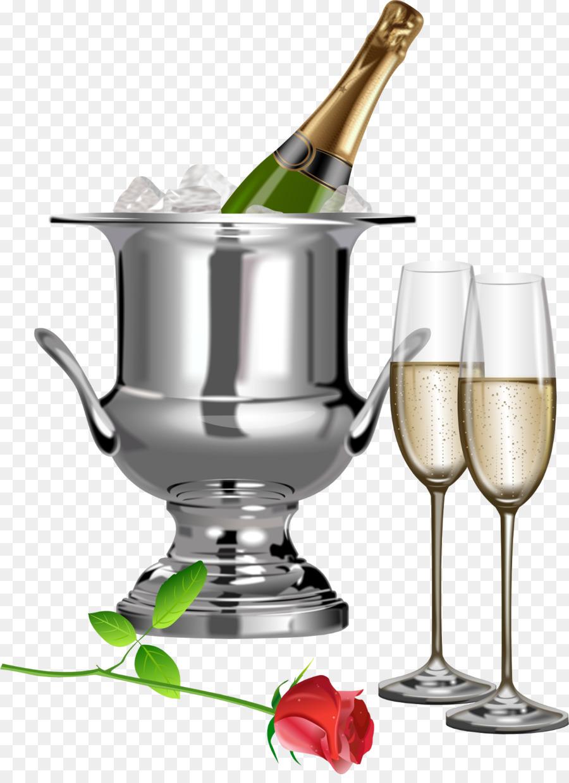 Anniversary clipart champagne flute, Picture #45692.