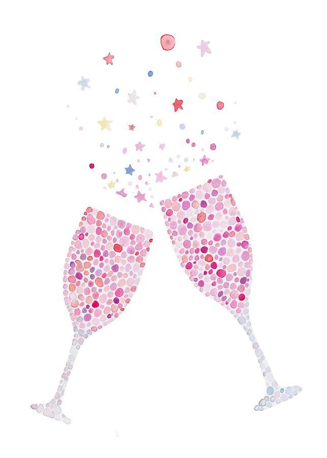 champagne glasses congratulations.
