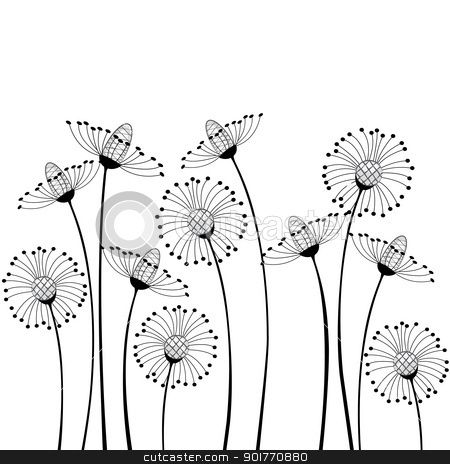 Anniversary flowers clipart single row Transparent pictures.