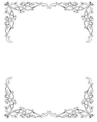 Clip Art Borders Free Wedding 1.