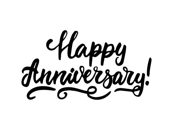 535 Happy Anniversary free clipart.