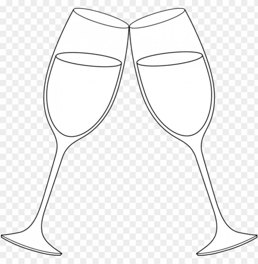 champagne glass wine toast clipart kid.