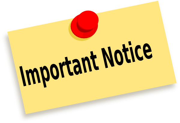Notes clipart notice, Notes notice Transparent FREE for.