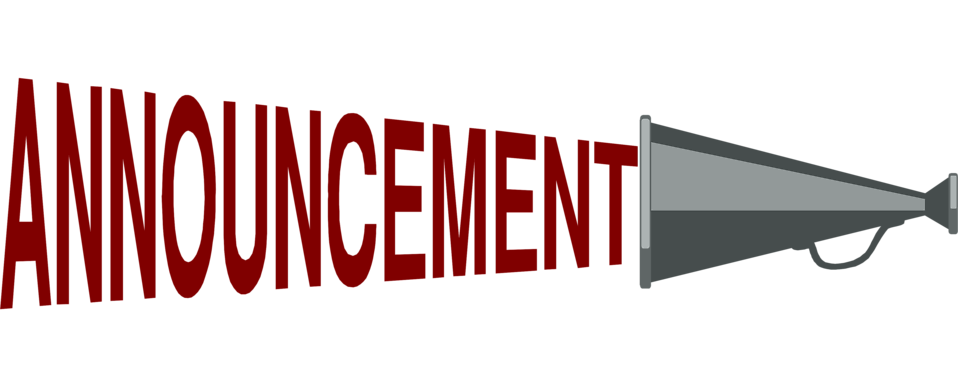 Announcement clipart #12