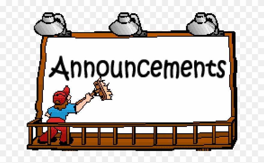 19 Announcements Clipart Huge Freebie Download For.