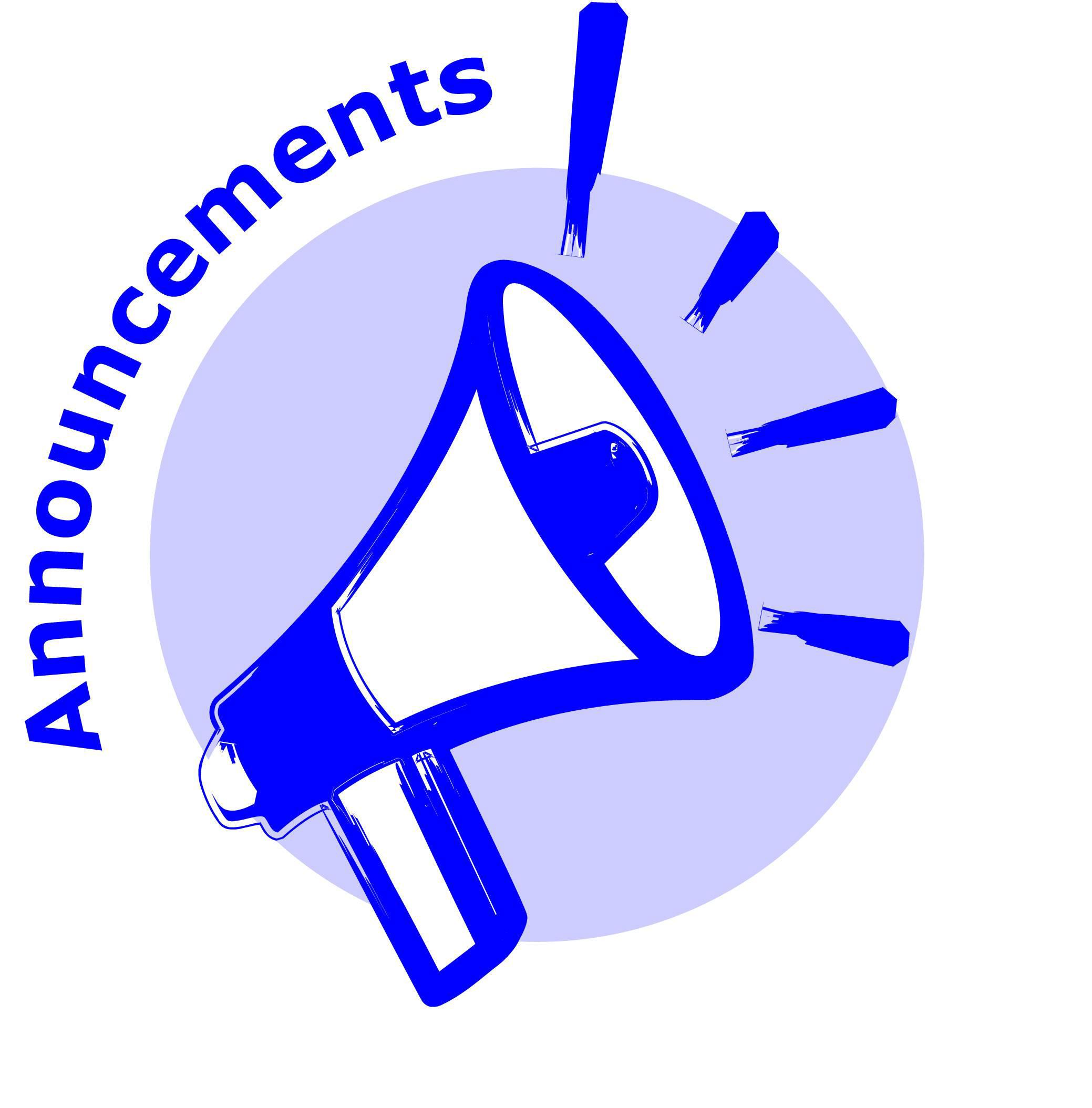 Announcement clipart icon, Announcement icon Transparent.
