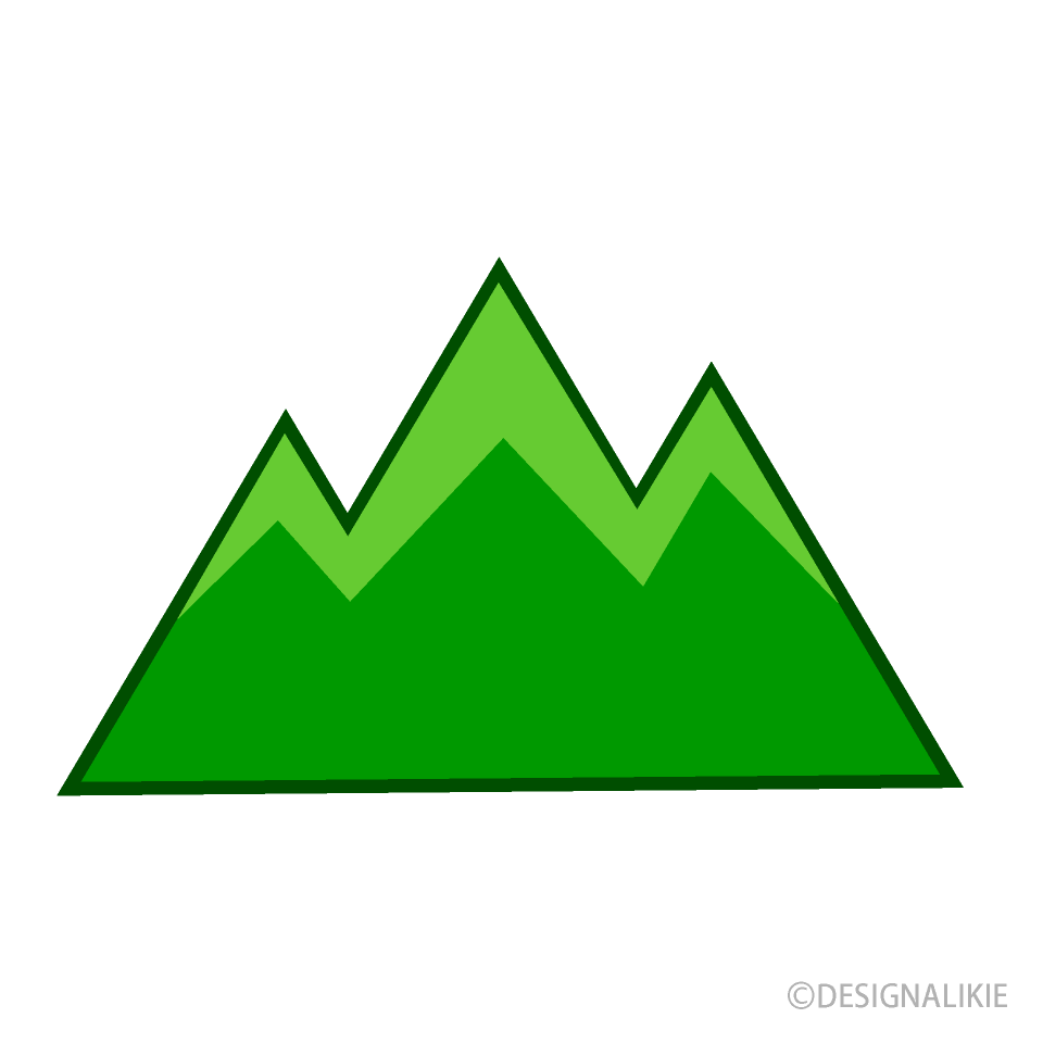 Free Mountain Clipart Image|Illustoon.