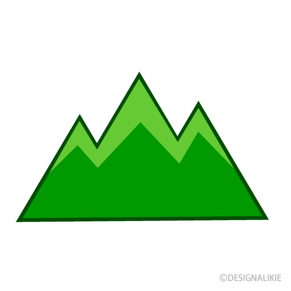 Free Mountain Clipart Image|Illustoon.