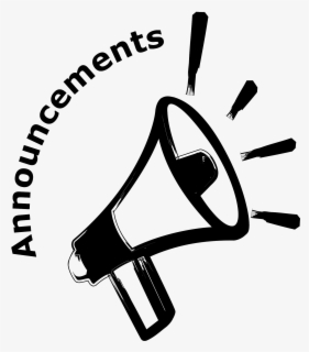 Free Announcements Clip Art with No Background.