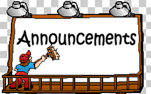 23 announcements Board PNG cliparts for free download.