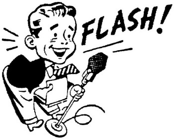 Radio Announcer Clipart.