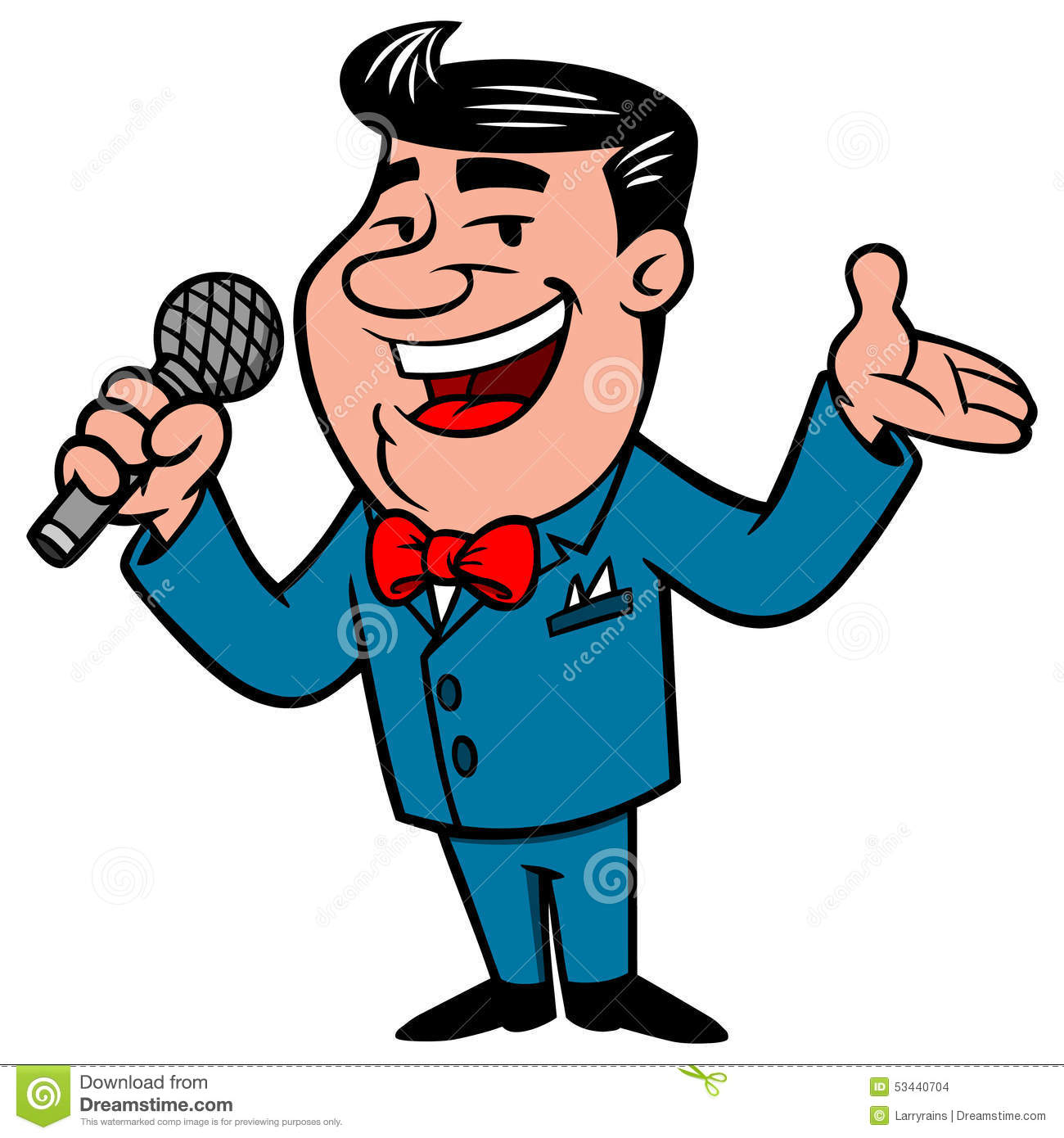 Announcer Clipart.