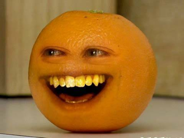 Annoying Orange Clipart.
