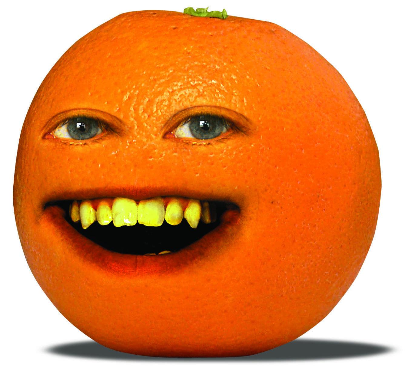 Annoying Orange Clipart.