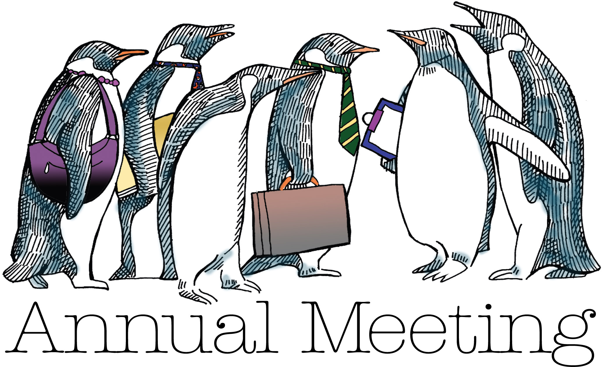 Annual Meeting Clipart.