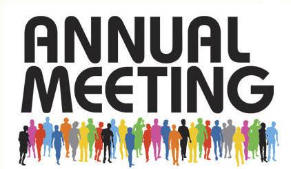 Annual Meeting Clipart.