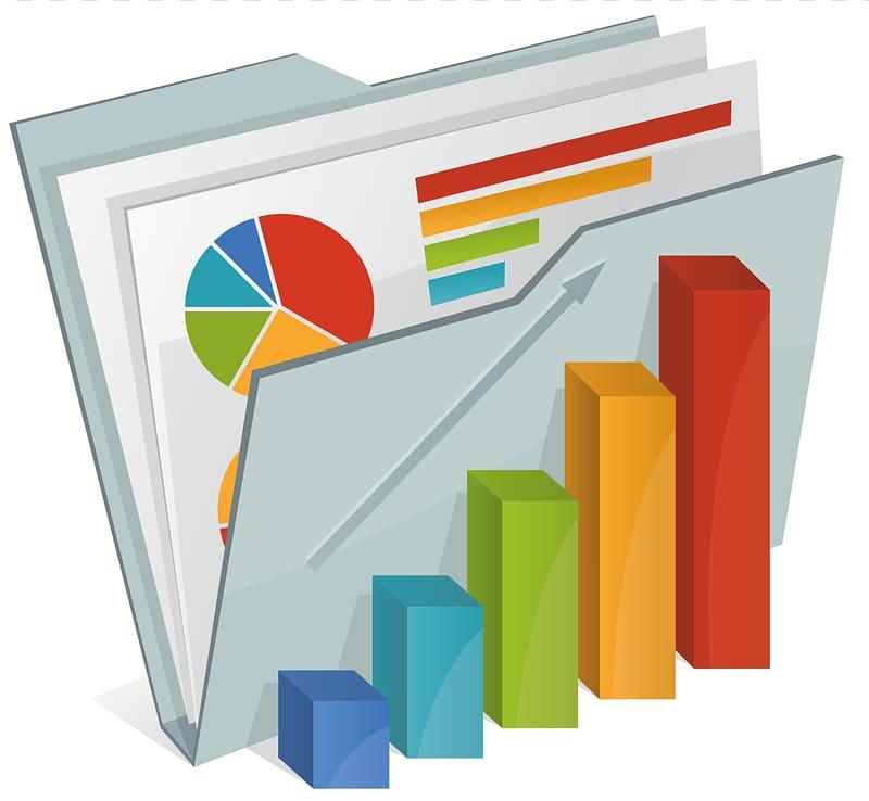 Multicolored graph, Annual report Business Information.