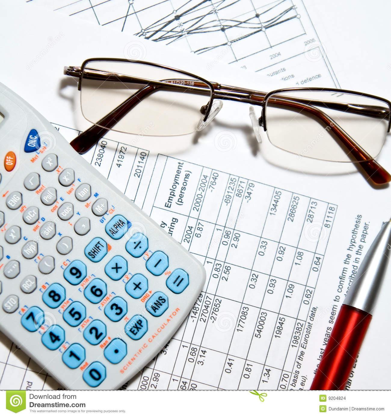 Clip Art Financial Statements.