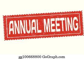 Annual General Meeting Clip Art.