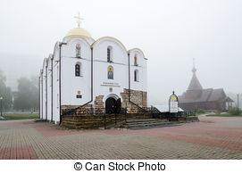 Stock Photography of Annunciation Church in Vitebsk, Belarus.