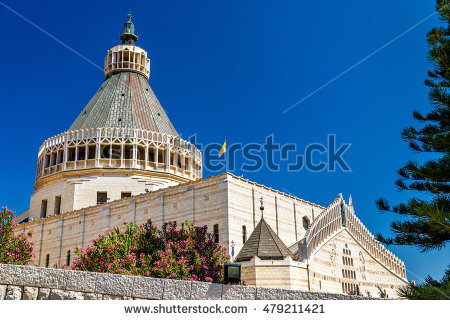 Historic Basilica Of The Shrine Church Stock Photos, Royalty.