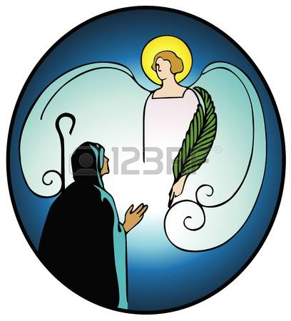 241 Annunciation Stock Vector Illustration And Royalty Free.