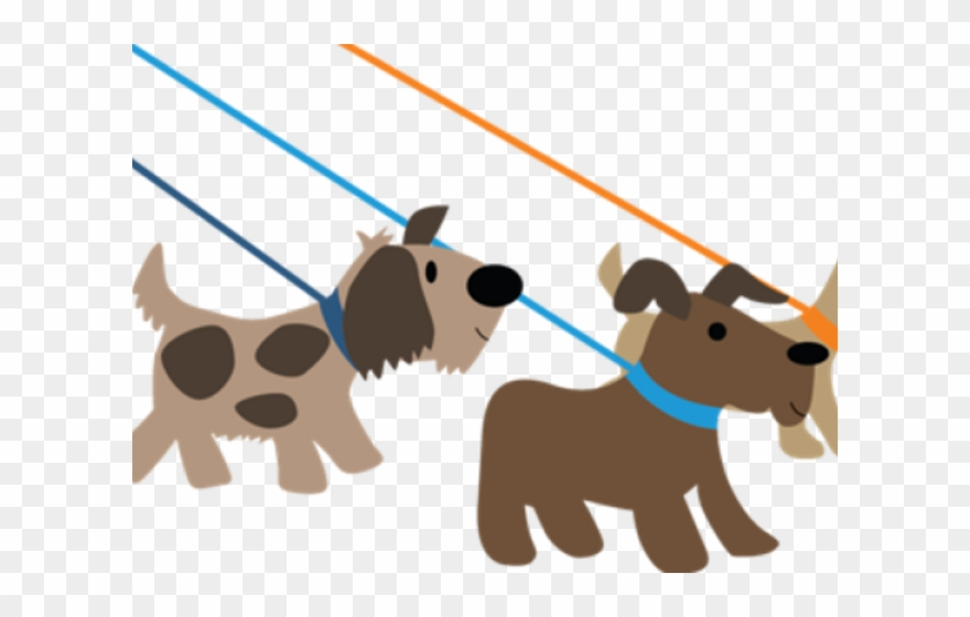 Pet Clipart Dog Walker.