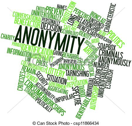 Drawings of Anonymity.