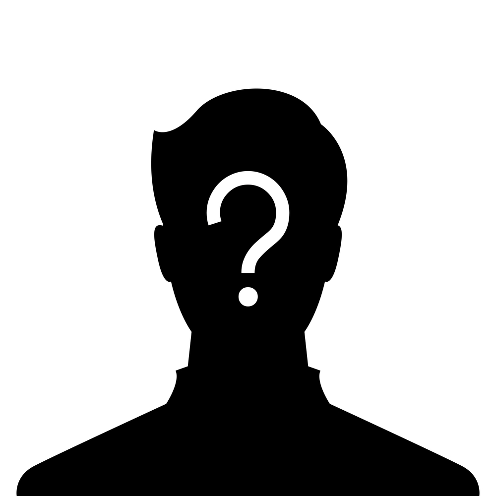 Anonymous Person Clipart.