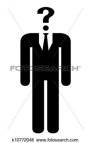 Stock Illustration of Anonymous human icon. k10772048.