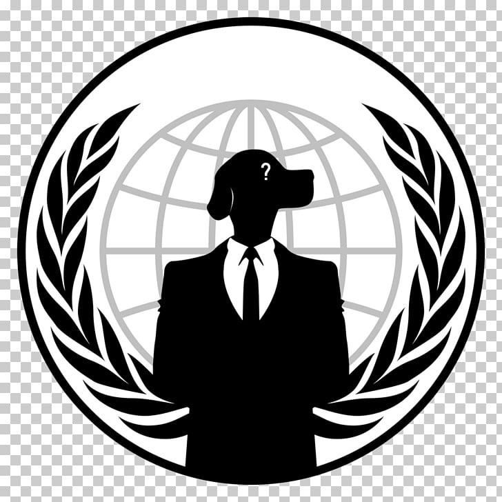 Anonymous Logo Hacktivism Security hacker, anonymous mask.