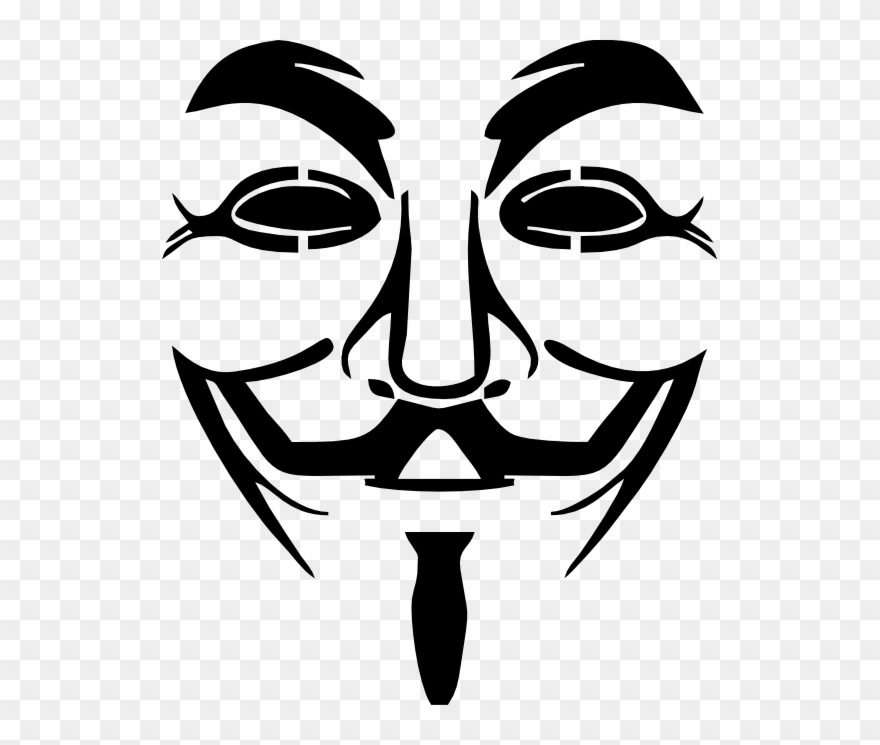 Anonymous Mask Logos And Symbols.