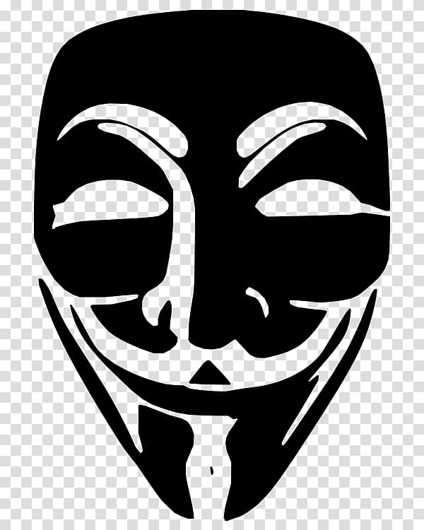 Anonymous Guy Fawkes mask , anonymous mask transparent.