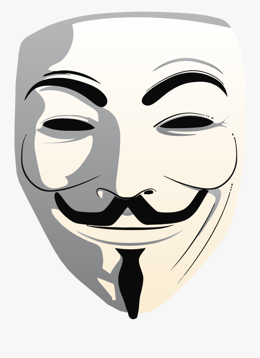 Guy Fawkes Mask Clipart.