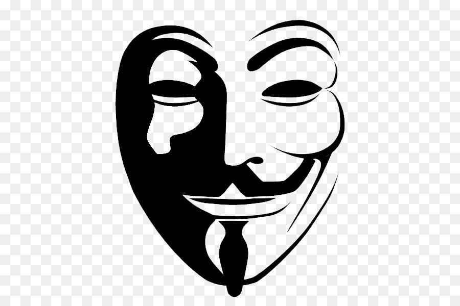 Anonymous Guy Fawkes mask Clip art.