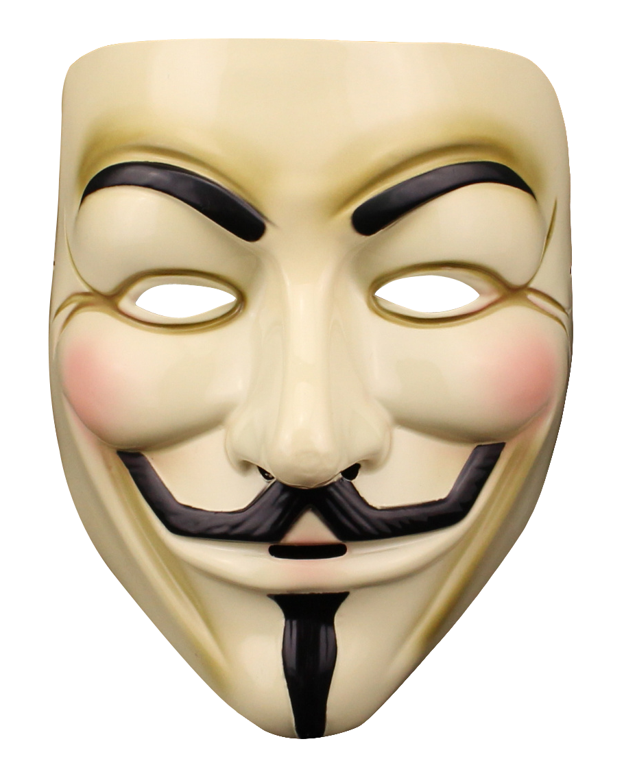 Anonymous Mask PNG Transparent Image 2.